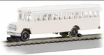 Bachmann 46215 Bus W/High Railers - White